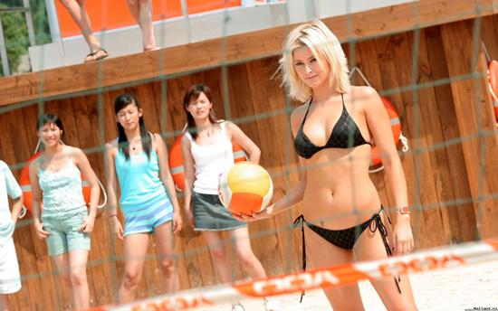 Сексуальная игра пляжный