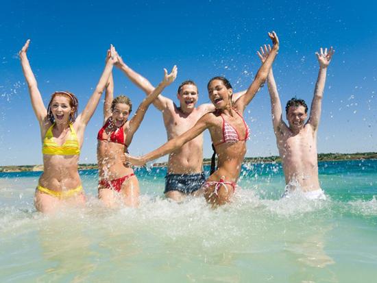 Лучшие пляжные игры  для нескучного летнего  отдыха