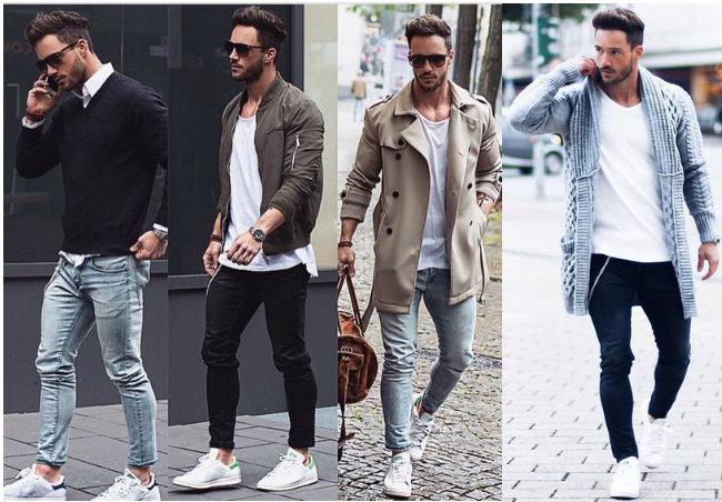Секси парни в узких джинсах
