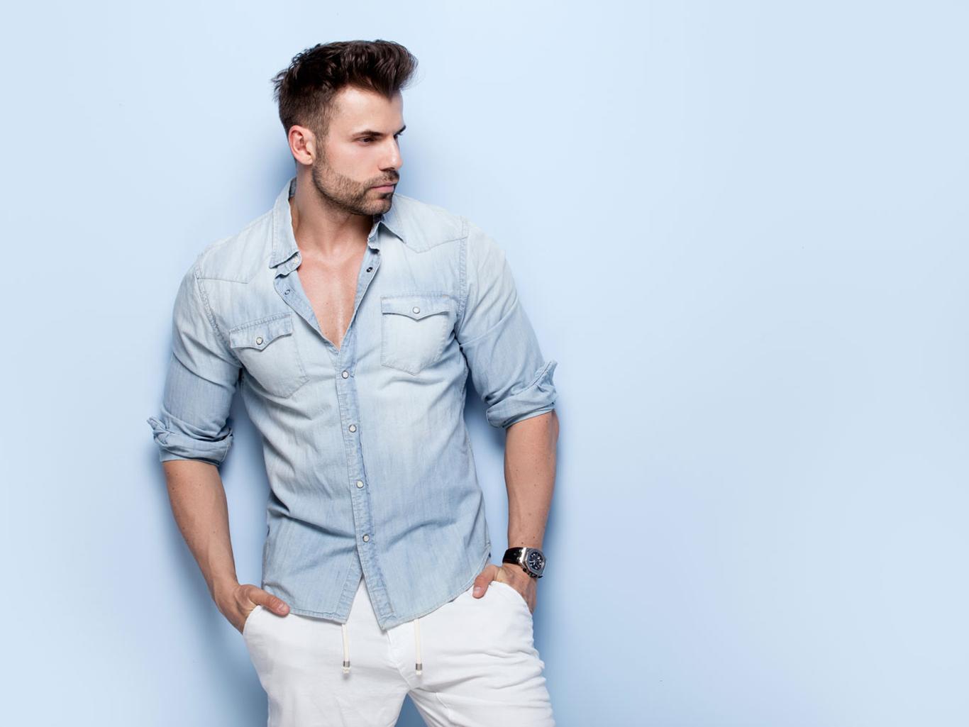 Рубашка с закатанными рукавами: простые секреты безупречного стиля