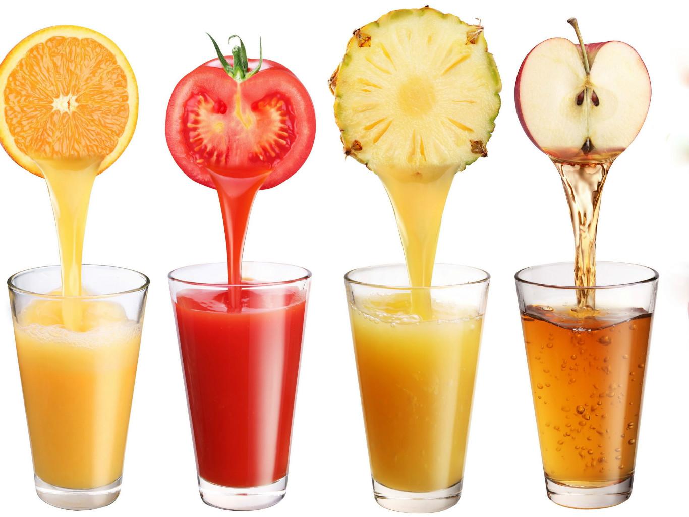Полезность натуральных соков