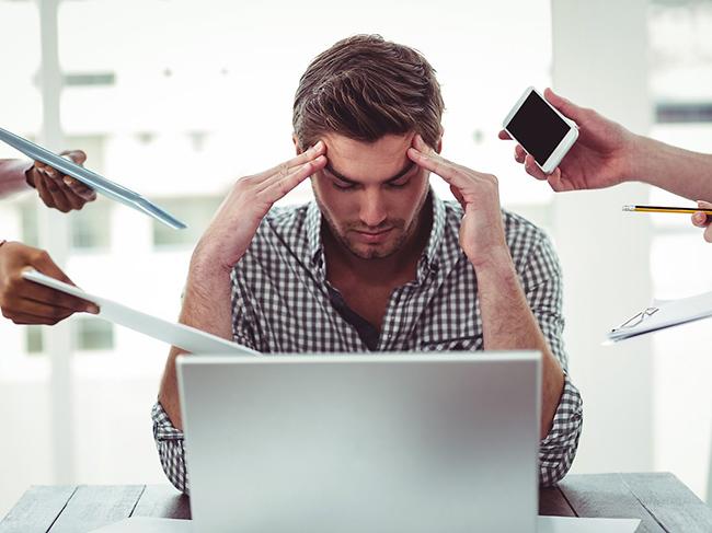 Эксперты: нелюбимая работа может стать причиной стрессов