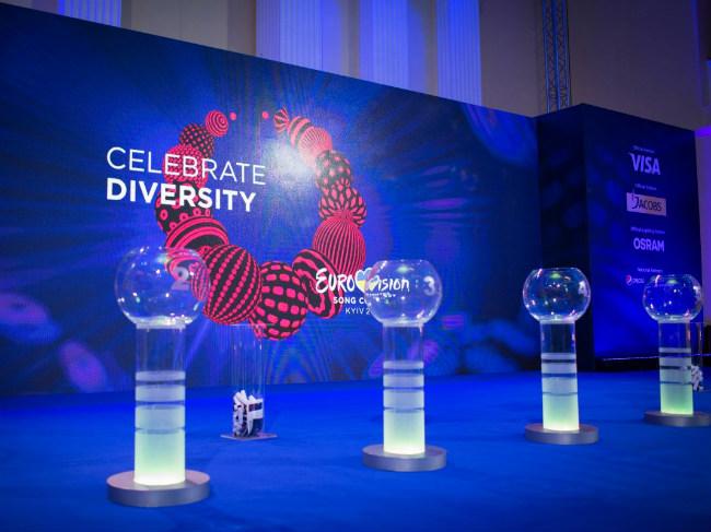 Проведена жеребьевка между победителями первого полуфинала Евровидения
