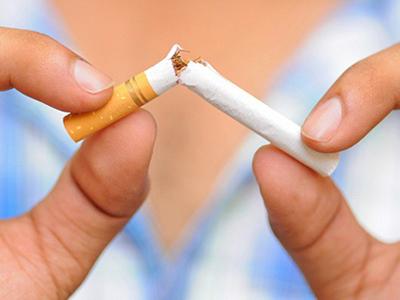 Чем больше человек курит,  тем сильнее он поправится  после отказа от сигарет
