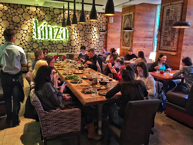 Ресторан кинза ярославль официальный