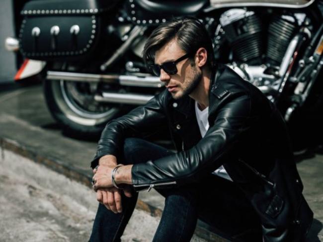 Мужская кожаная куртка: как создать стильный образ?