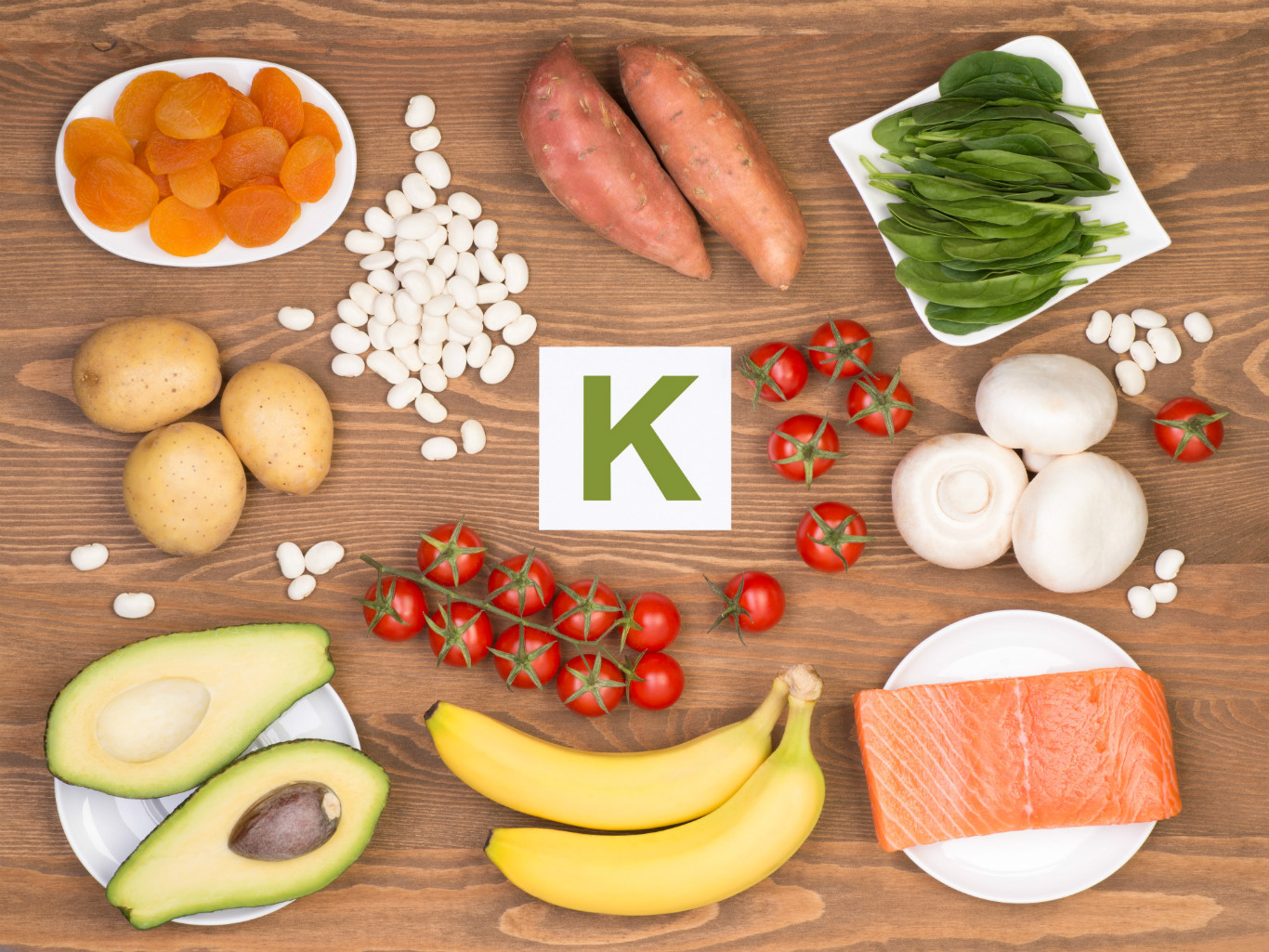 В каких продуктах содержится калий?