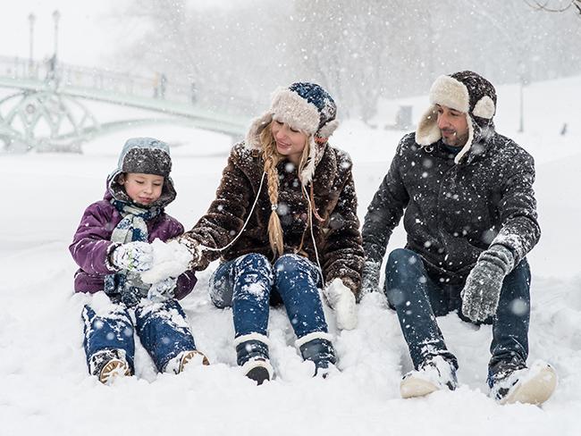 Как сохранить тепло тела во время мороза?