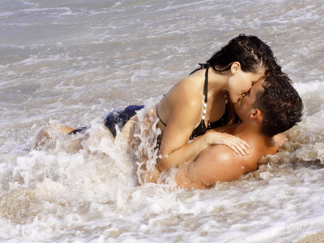 Секс видео на природе и на пляже