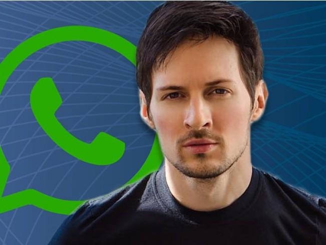 Павел Дуров призвал пользователей удалить WhatsApp