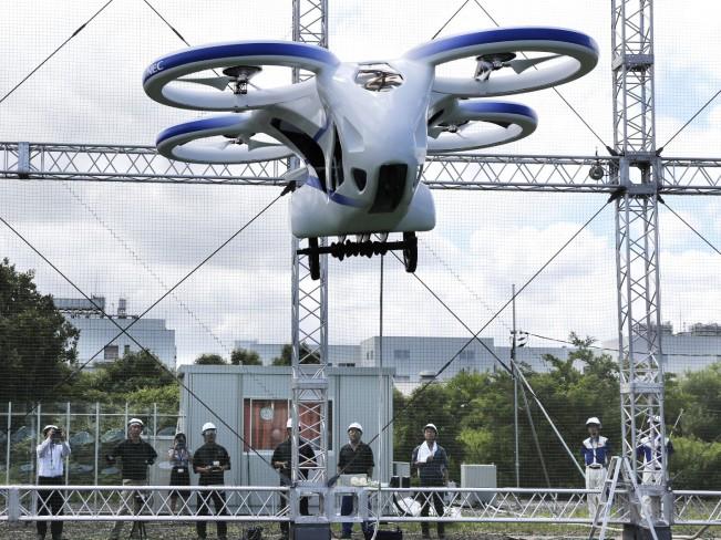 Японцы провели испытания пассажирского дрона