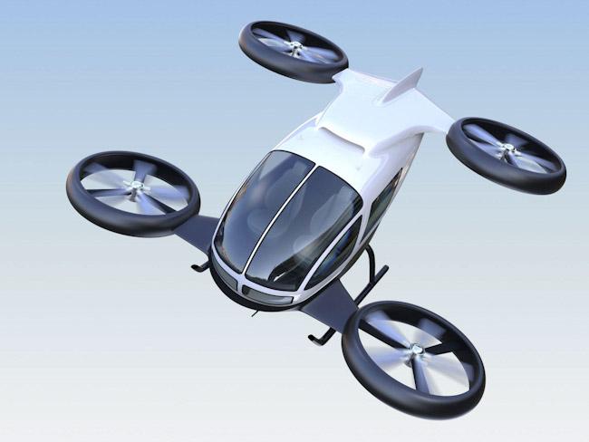 Японская компания представила новую модель летающего авто