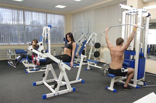 Фитнес клуб своими руками