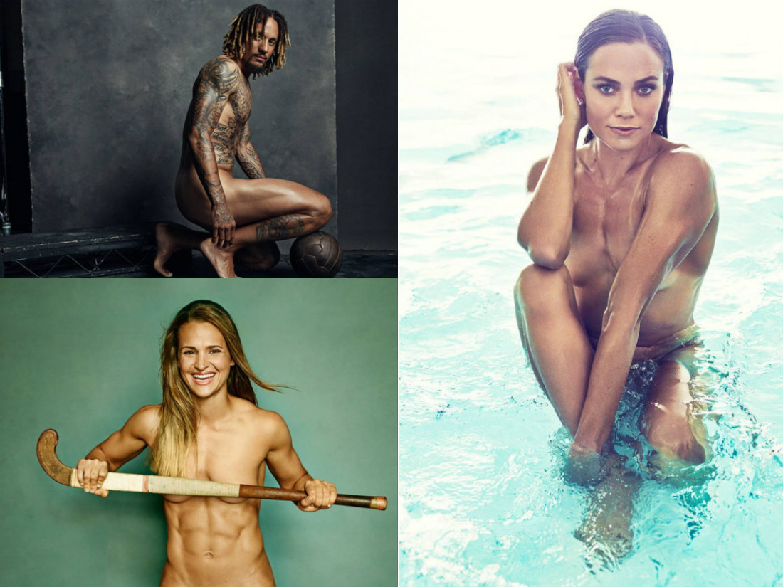 Известные голые спортсменки мира