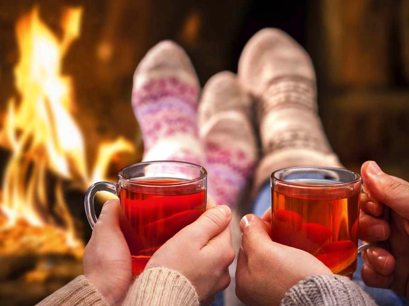 Лучшие согревающие зимние напитки