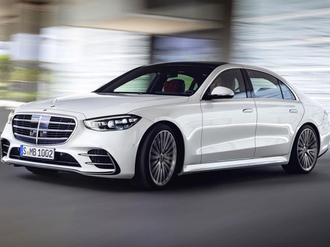 Каким будет новый Mercedes W223: раскрыты все подробности