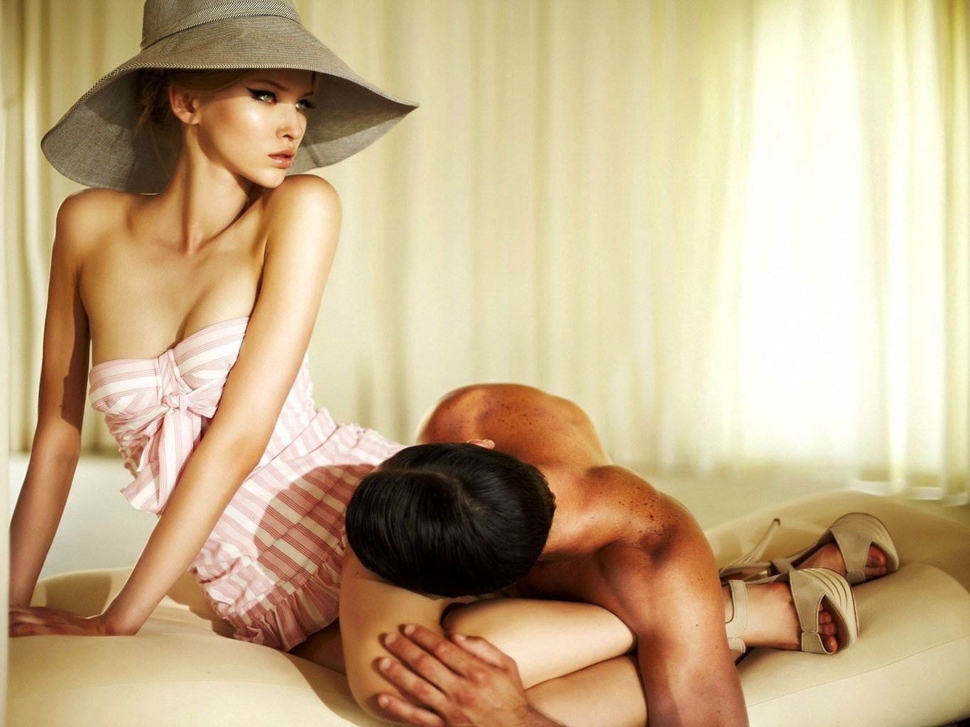 Сделай мужа рабом, Заставила непокорного мужа быть рабом 13 фотография