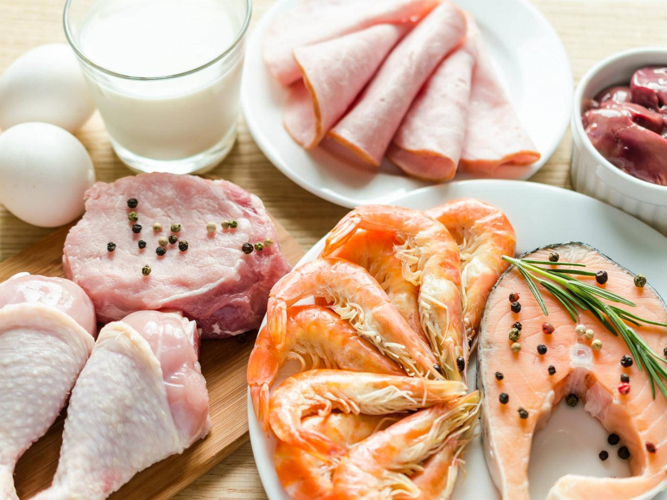 Еда которая содержит белки