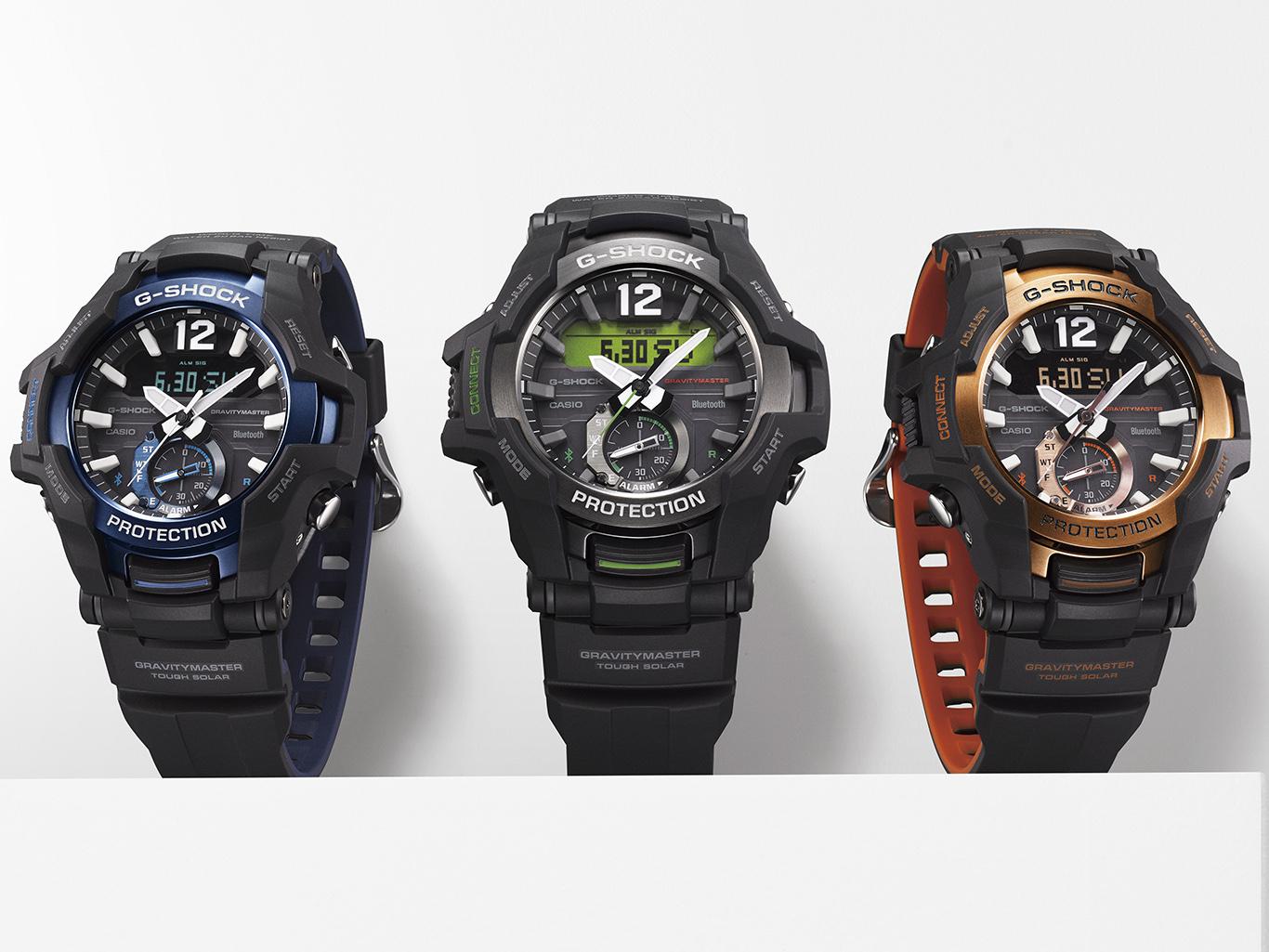 История становления модельного ряда G-Shock