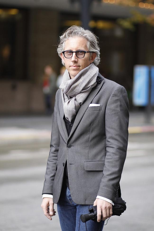 5 способов стильно и красиво завязать мужской шарф