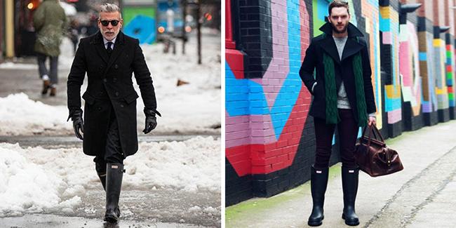 Мужские сапоги: какими бывают и с чем их носить