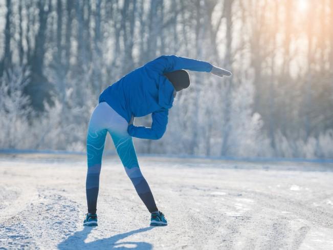 Бег зимой. 8 причин почему бегать зимой полезно