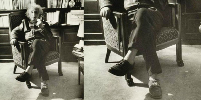 Носки Эйнштейна или чему учат необычные привычки гениев