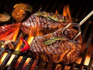 Мясо, приготовленное на открытом огне, опасно для здоровья
