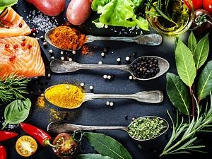 С каким продуктами сопоставлять неодинаковые приправа равно приправы?