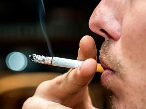 При курении сокращается член