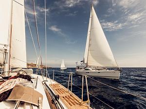 отправиться яхте самые красивые локации мира