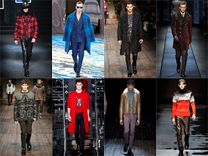 Самые актуальные тенденции  в мужской моде  сезона осень-зима 2014/15
