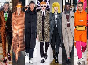 мужская мода 2019 2020 главные тенденции осени зимы