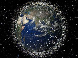 Японцы запустили магнит для космической уборки