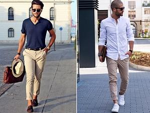 С чем носить брюки чинос и как дополнить образ?