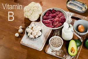 каких продуктах содержатся витамины группы