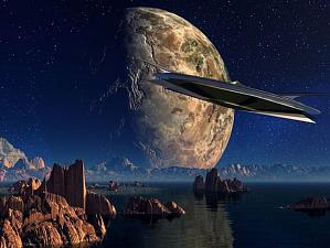 Астроном заверяет в том, что корабль пришельцев посетил Солнечную систему!