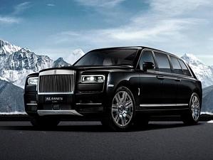 Тюнинг-ателье представило самый дорогой в мире бронированный автомобиль