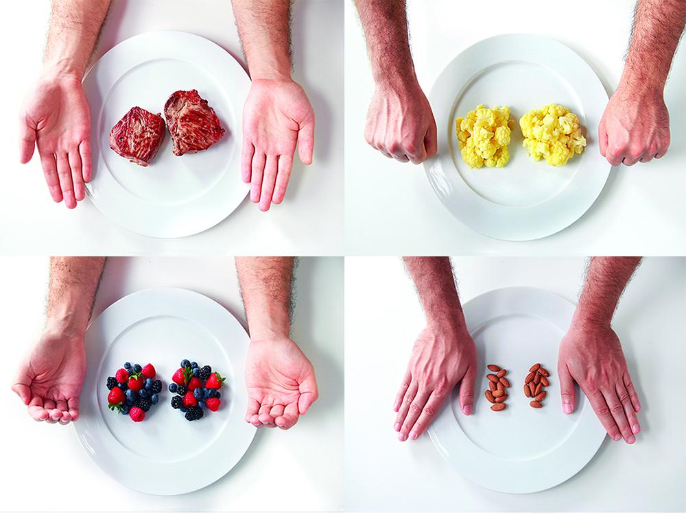Как определить размер порции, или Для тех, кто не хочет считать калории -  Правила питания - Питание - MEN's LIFE