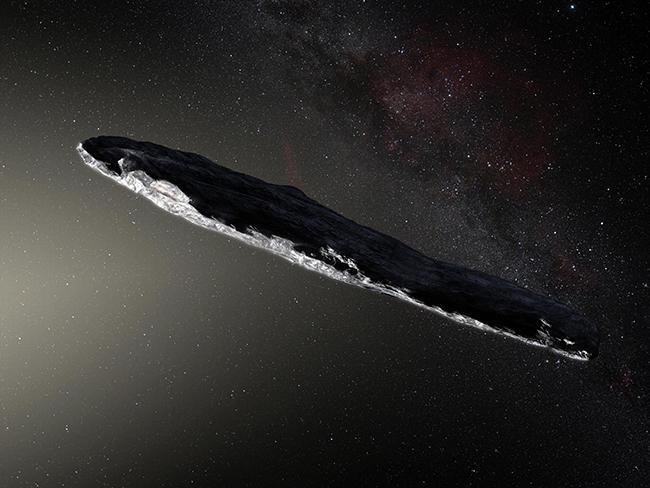 Эксперты предположили причину возникновения межзвездного астероида Оумуамуа