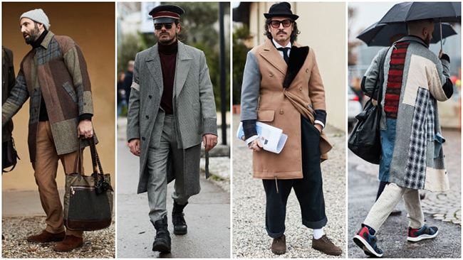 Мужская мода осень-зима 2018/2019